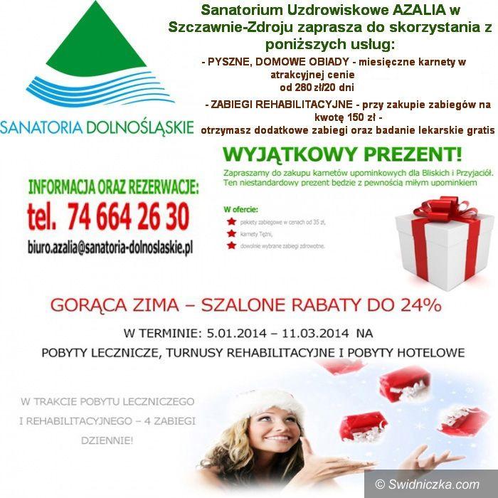 Region: Sanatoria Dolnośląskie zapraszają!