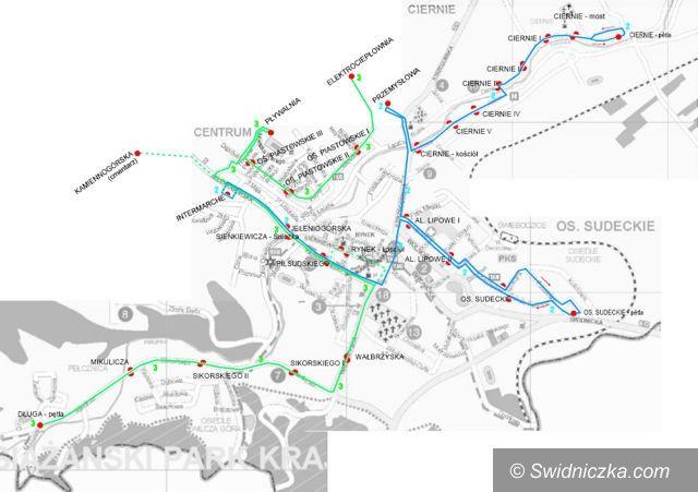 Świebodzice: Spore utrudnienia na świebodzickich drogach