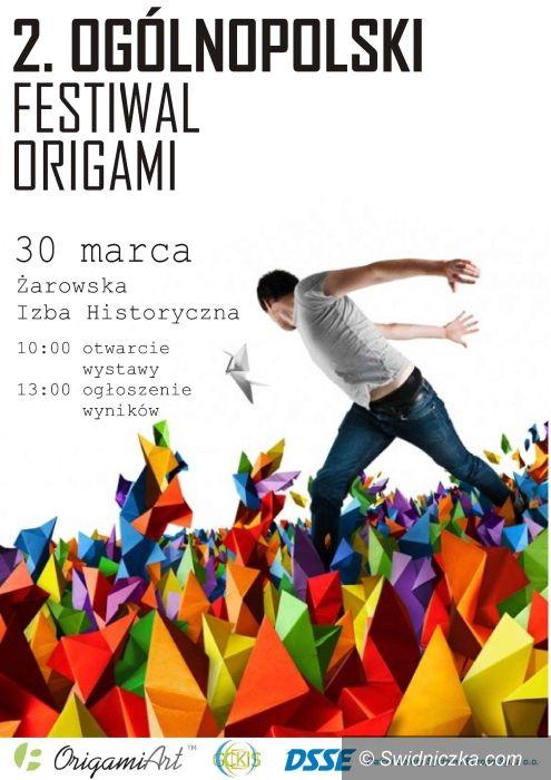 Żarów: II Ogólnopolski Festiwal Origami