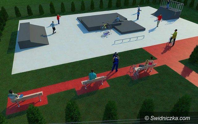 Żarów: Młodzi projektują skatepark