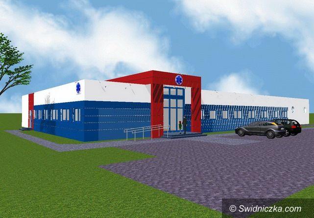 Strzegom: Pomoc na budowę Powiatowego Pogotowia Ratunkowego w Świdnicy