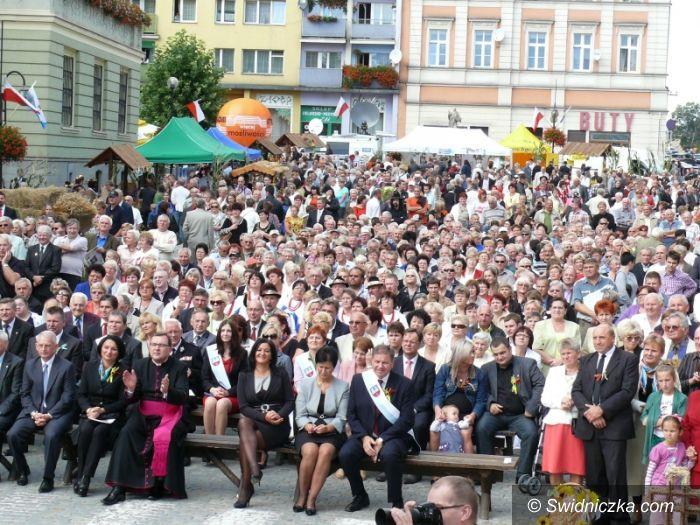Strzegom: Dożynki Wojewódzkie w Strzegomiu