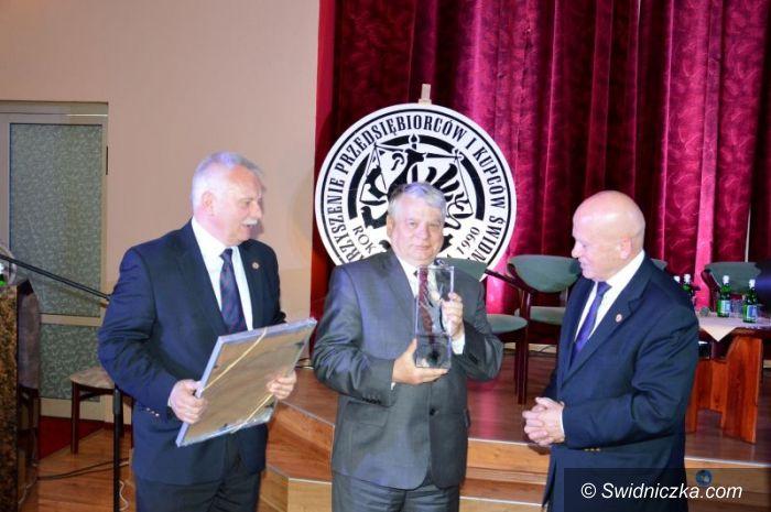 Świdnica: Ostatni Diament Wolności w rękach Bogdana Borusewicza