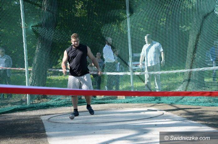 Żarów: W Żarowie powstała rzutnia dla młociarzy
