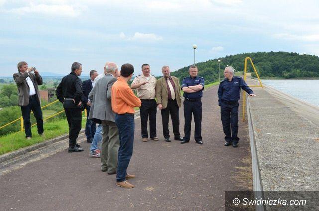 powiat świdnicki: Inspekcja zapór i zbiorników wodnych