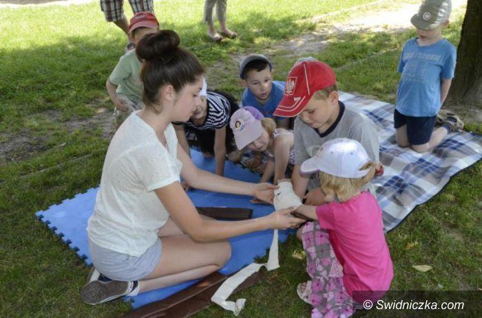 Żarów: Przedszkolaki na kursie pierwszej pomocy