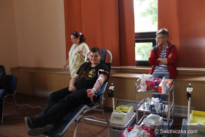 Świebodzice: Świebodziczanie podzielili się krwią