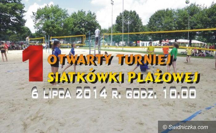 Świdnica: Pierwszy wakacyjny turniej plażówki
