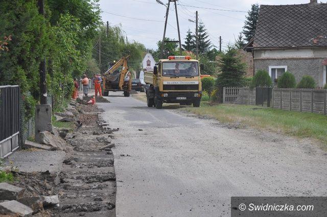 Strzelce: Nowy asfalt w Strzelcach