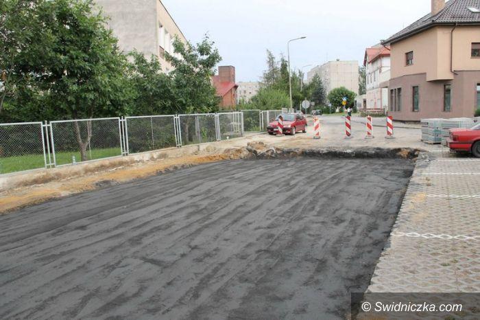 Świebodzice: Ulica Mieszka Starego do remontu