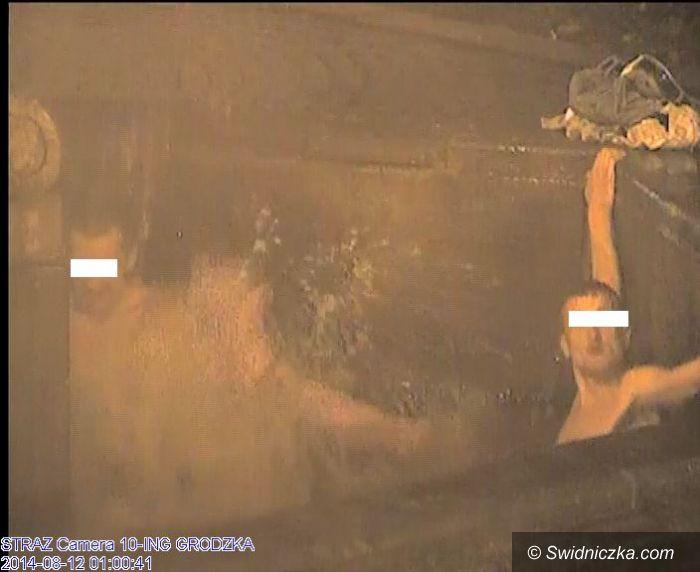 Świdnica: Kąpiel w środku nocy