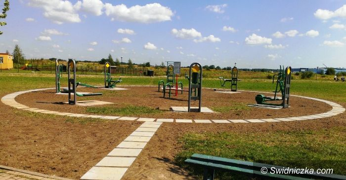 Świdnica: Budżet obywatelski – siłownia i boisko dla mieszkańców