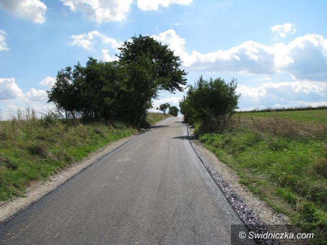 Gmina Marcinowice: Prace na drogach trwają