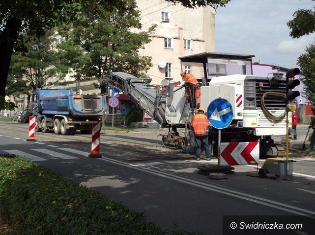 Strzegom: Remonty strzegomskich ulic