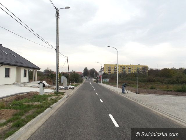 Strzegom: Ulica Armii Krajowej od wtorku już przejezdna