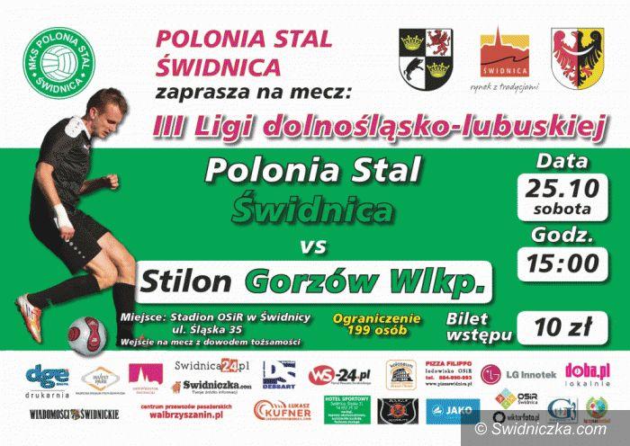 III-liga: Wrócić na właściwe tory. Do Świdnicy zawita gorzowski Stilon!