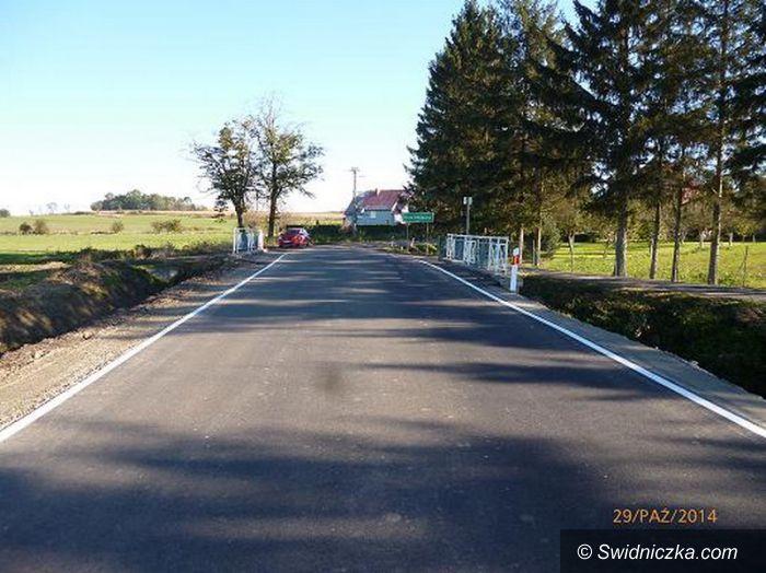Gola Świdnicka: Przebudowa drogi powiatowej w Goli Świdnickiej