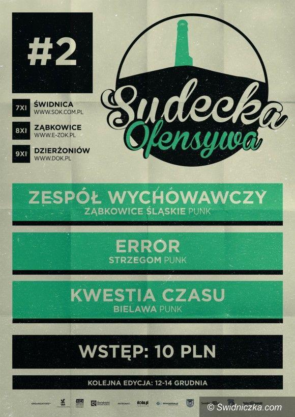 Świdnica: Weekend z punk rockiem w ramach Sudeckiej Ofensywy