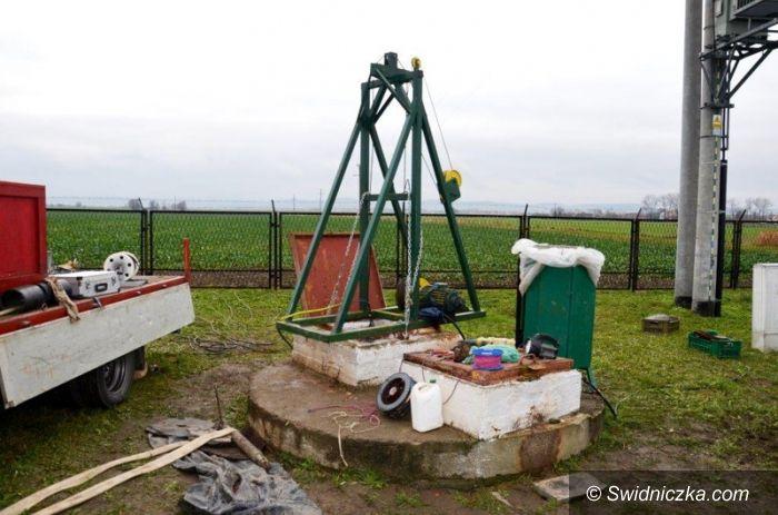 Olszany: Regeneracja studni na SUW w Olszanach