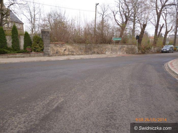 Stanowice: Remont dróg powiatowych na skrzyżowaniu w Stanowicach