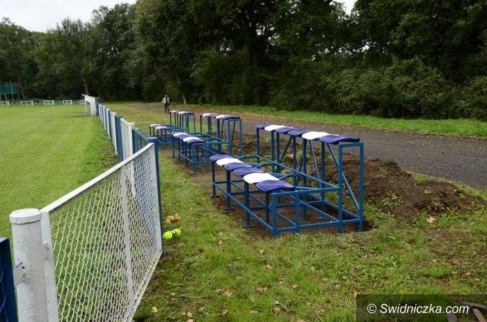 Żarów: Nowe ogrodzenie na żarowskim stadionie