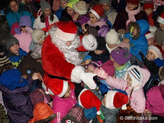 Świebodzice: Mikołaj przyjedzie z workiem prezentów
