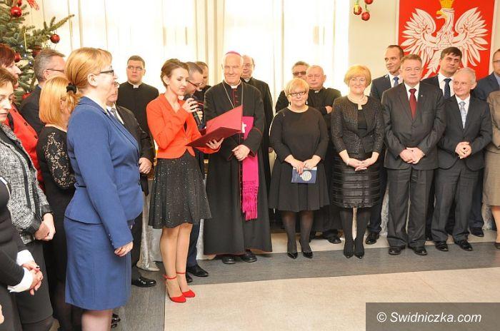 Świdnica: Świąteczne spotkanie wójta gminy Świdnica