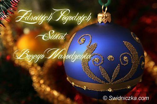 Świdnica: Wspaniałych, rodzinnych Świąt Bożego Narodzenia!