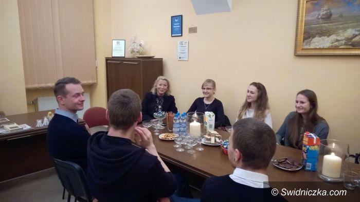Świdnica: Spotkanie posłanki Teresy Świło ze świdnicką młodzieżą