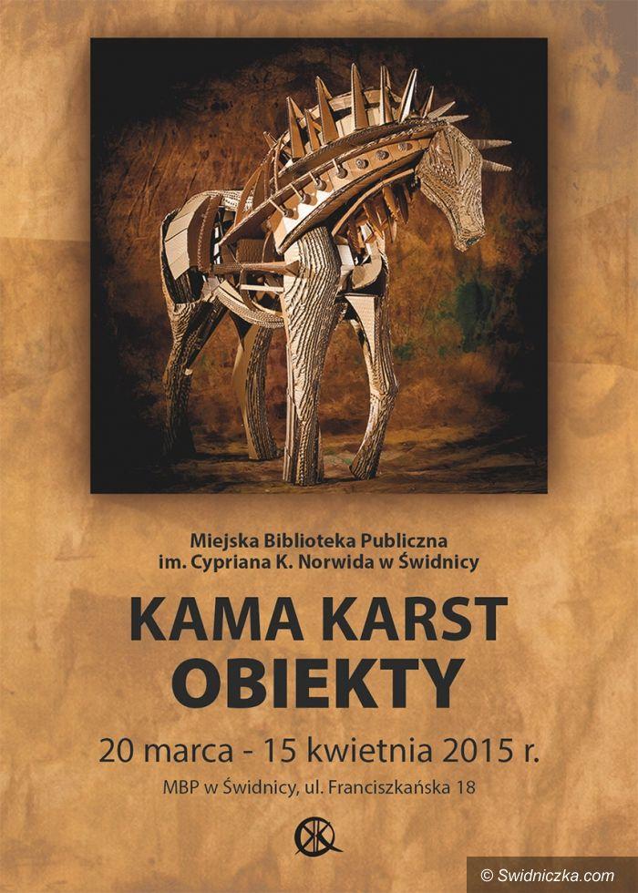 Świdnica: Wernisaż wystawy Kamy Karst