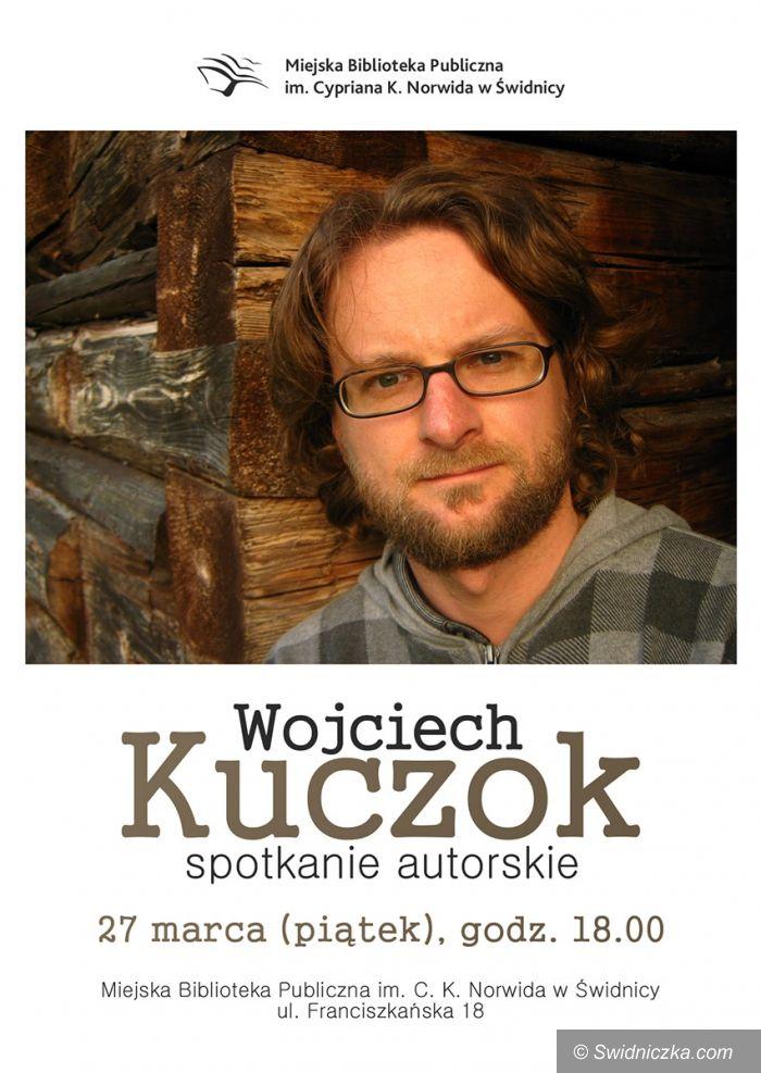 Świdnica: Spotkanie autorskie z Wojciechem Kuczokiem