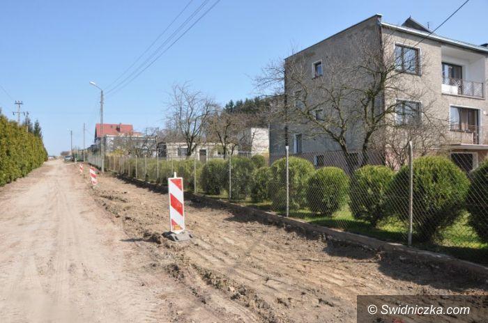 Grodziszcze: Remont dróg w Grodziszczu