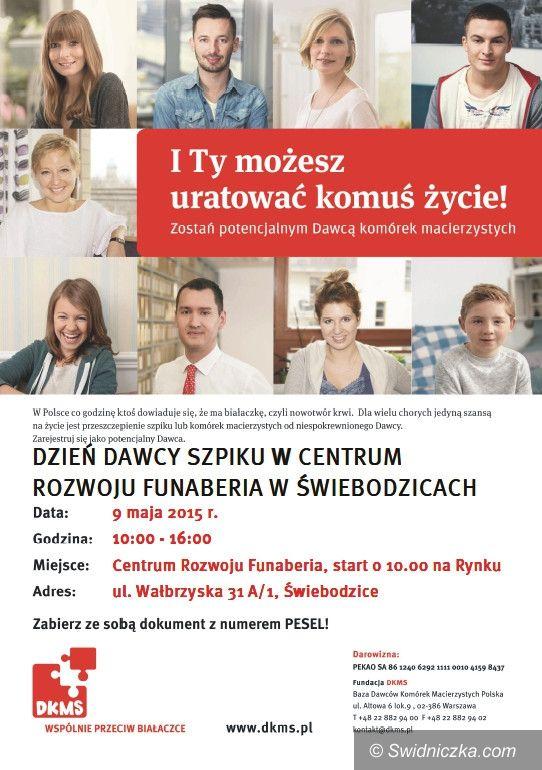 Świdnica: Zostań dawcą szpiku – akcja DKMS w Świebodzicach
