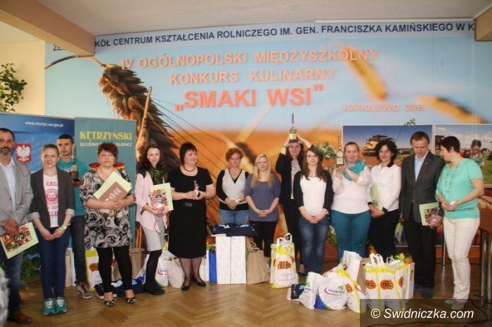 Mokrzeszów: Złota patelnia dla ZSCKR Mokrzeszów