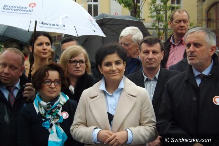 Wałbrzych: Apelują o udział w wyborach i poparcie dla Komorowskiego