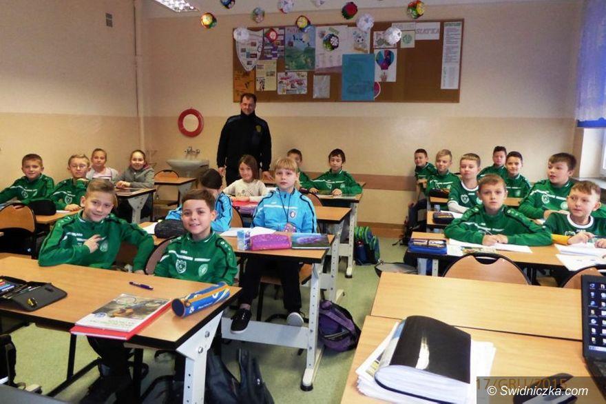 Świdnica: Z uczniami szkół podstawowych o fajerwerkach