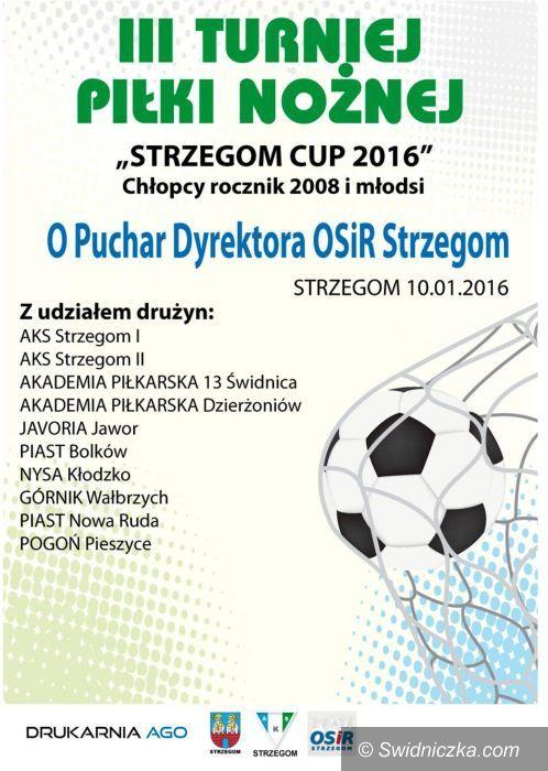 Strzegom: Turniej piłkarski w Strzegomiu