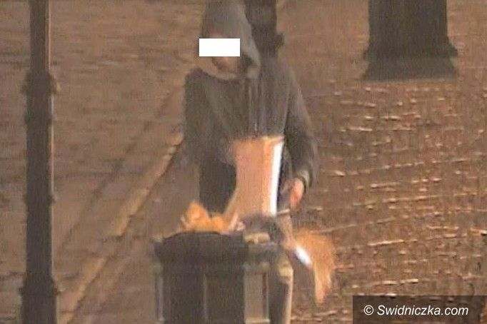 Świdnica: Nocny turysta
