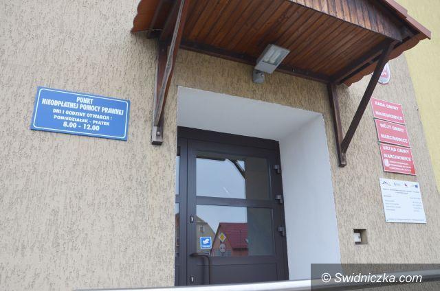 Marcinowice: Marcinowice: Punkt Nieodpłatnej Pomocy Prawnej