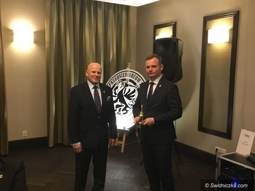 Świdnica: Andrzej Panas na czele świdnickich kupców
