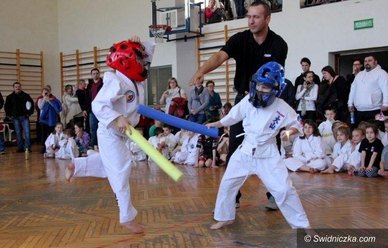 Dobromierz: I Otwarty Turniej Młodych Mistrzów World Kick–Boxing–Karate Sport Federation (WKSF)