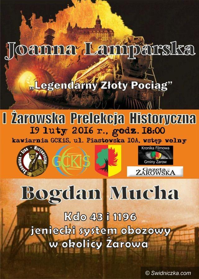 Żarów: I Żarowska Prelekcja Historyczna