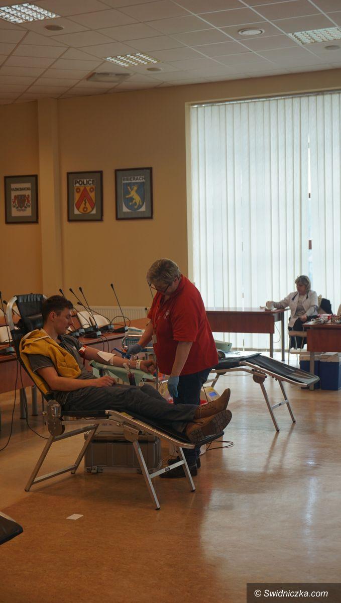 Świdnica: Zbiórka krwi w Urzędzie Miejskim