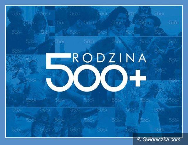 Świdnica: Informacja w sprawie programu 500+