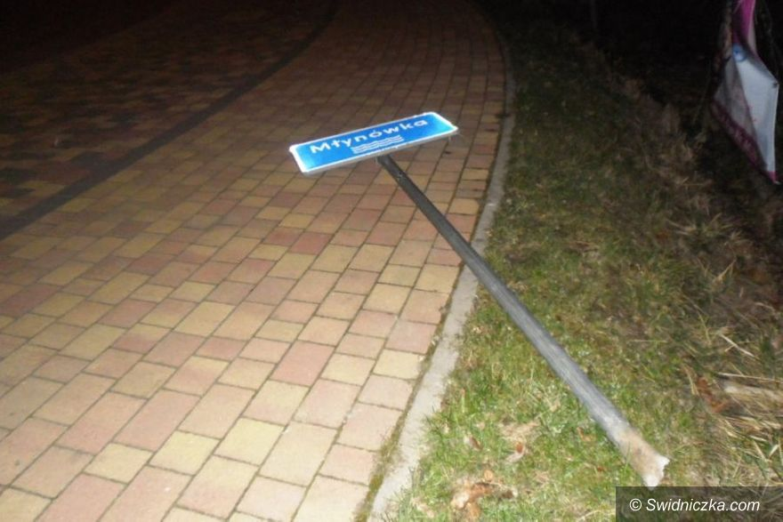 Świdnica: Przeszkadzały w drodze