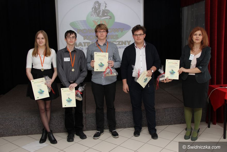Świdnica: Konkurs matematyczny w ZSM