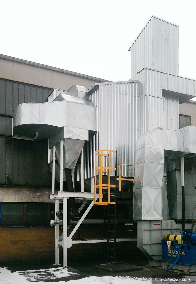 Żarów: Żarowska ciepłownia wybudowała instalację odpylania spalin