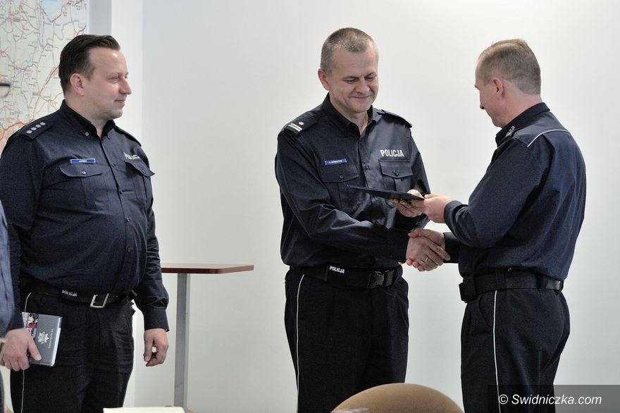 Świdnica: Uroczystość powierzenia obowiązków I Zastępcy Komendanta Powiatowego Policji w Świdnicy