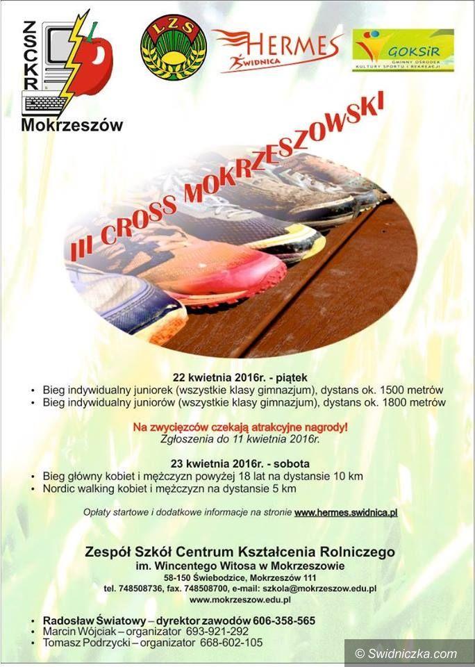 Mokrzeszów: Przed nami Cross Mokrzeszowski