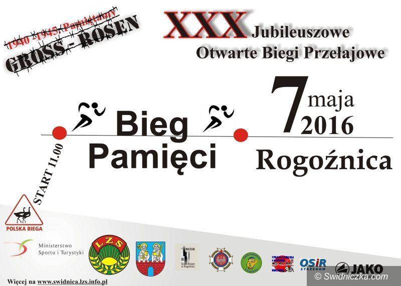 Świdnica: XXX Jubileuszowy Bieg Pamięci